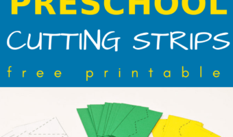cutting skills preschool worksheets