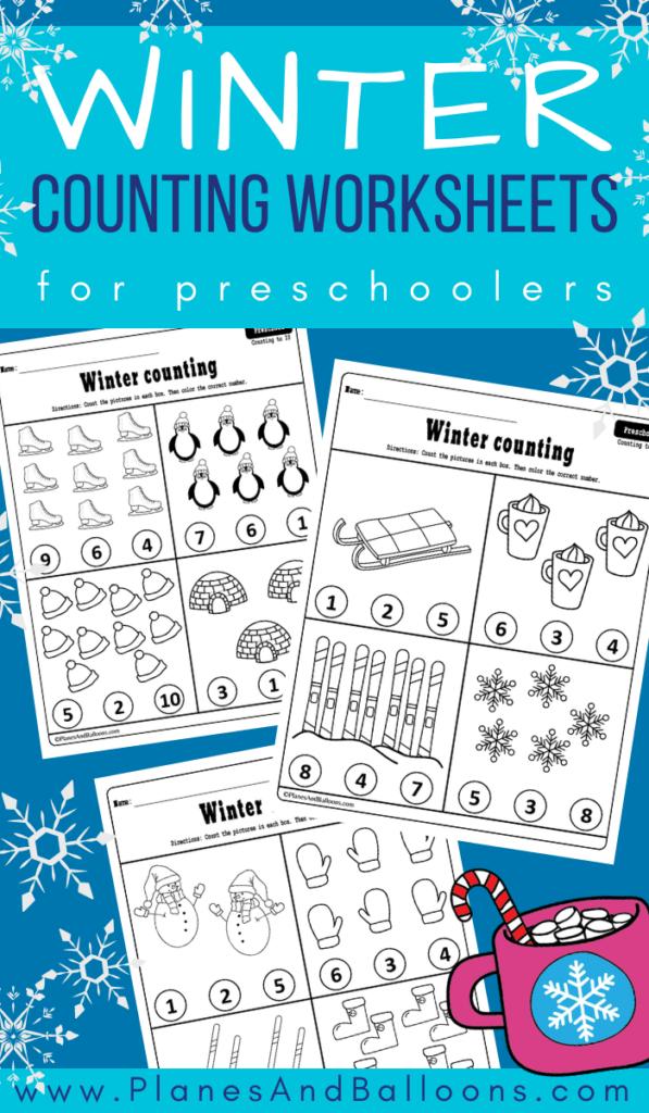 Winter printables for preschool