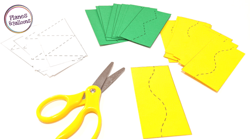 cutting skills printables
