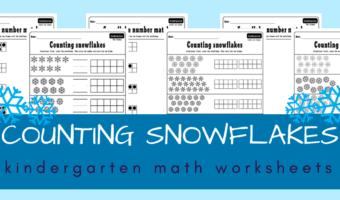 winter worksheets for kindergarten