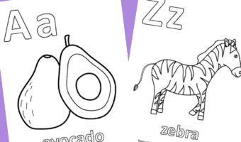alphabet coloring book free pdf