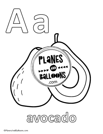 Free alphabet coloring book printable pdf