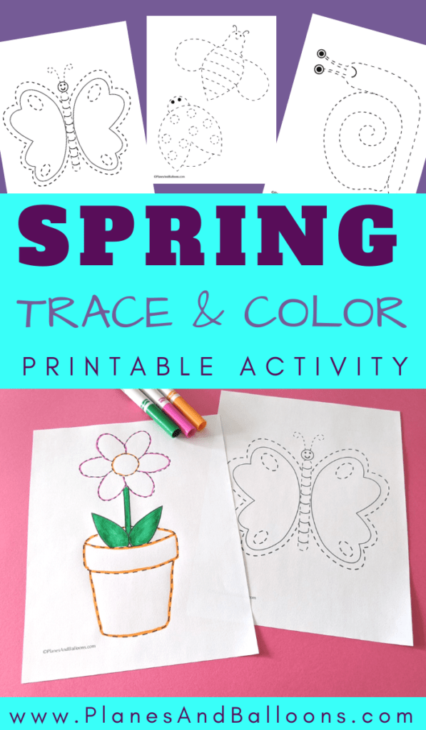 Spring trace and color
