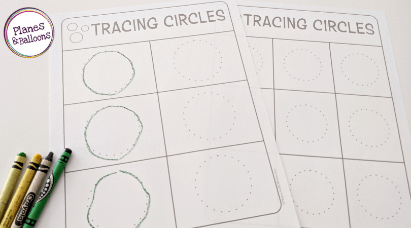 tracing lines and shapes pdf