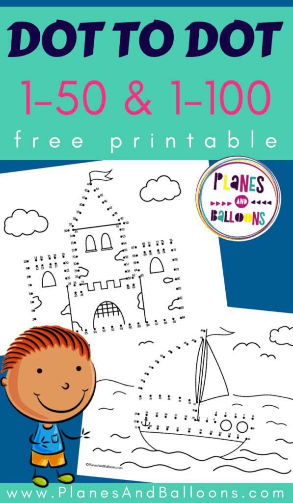 It's just a picture of Free Printable Dot to Dot in pdf