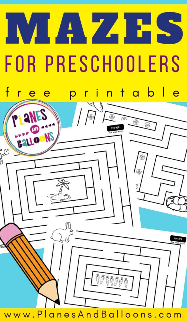 mazes for preschoolers