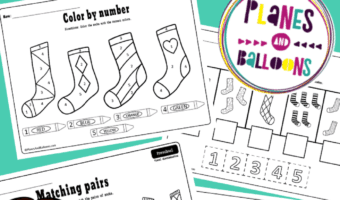 Preschool learning pack pdf free printable