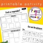 Sorting worksheets preschool pdf