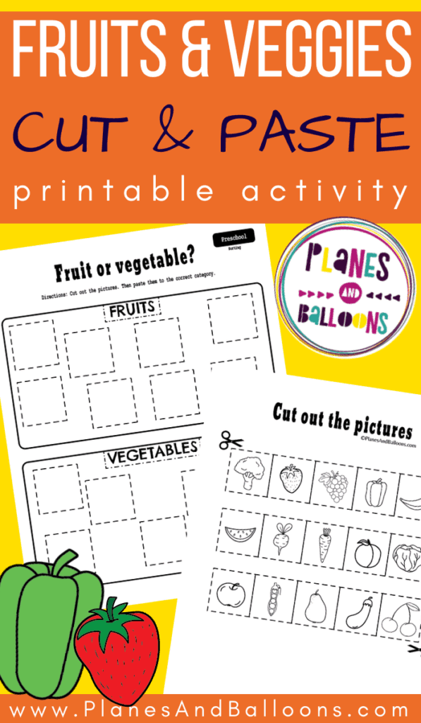 Sorting activities preschool pdf