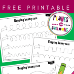 Tracing lines printables preschool