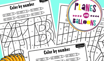 ABC color by number