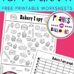 Bakery I spy and graph