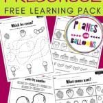 Berry picking preschool learnin pack