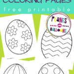 Easter egg templates pdf