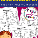 Ending sounds worksheets for kindergarten pdf