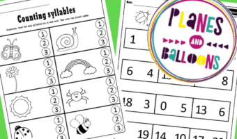 kindergarten review packet pdf
