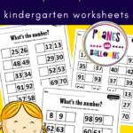 numbers to 100 kindergarten
