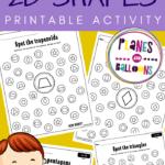 spot and dot shapes free printable