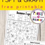 Summer I Spy free printable