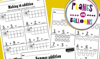 Summer addition to 10 kindergarten