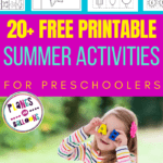 summer printables for kids
