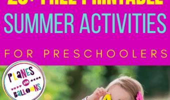 summer printables for kids