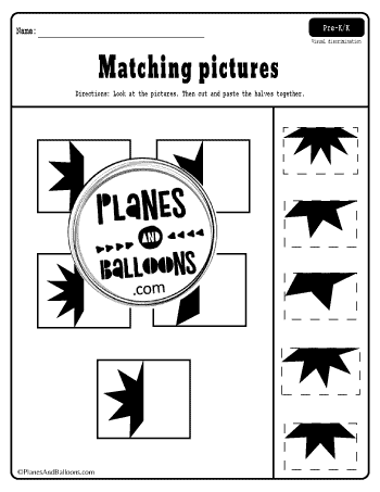 cut and paste stars worksheet