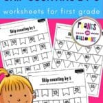 Skip counting by 5 worksheets 1st grade