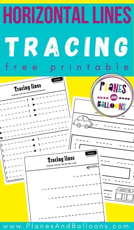 tracing horizontal lines worksheets pdf - free printable tracing straight lines worksheets